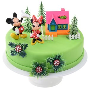Décor pour gâteau Mickey et Minnie