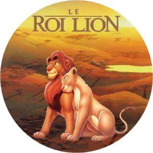 photo pour gâteau le Roi lion