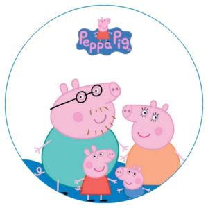 photo pour gâteau Peppa pig