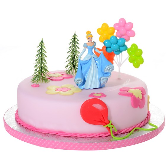 Décor pour gâteau Cendrillon