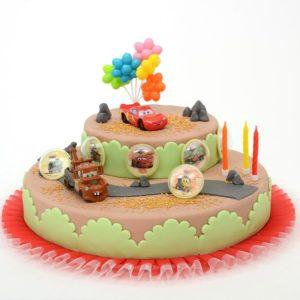 kit décor pour gâteau Cars