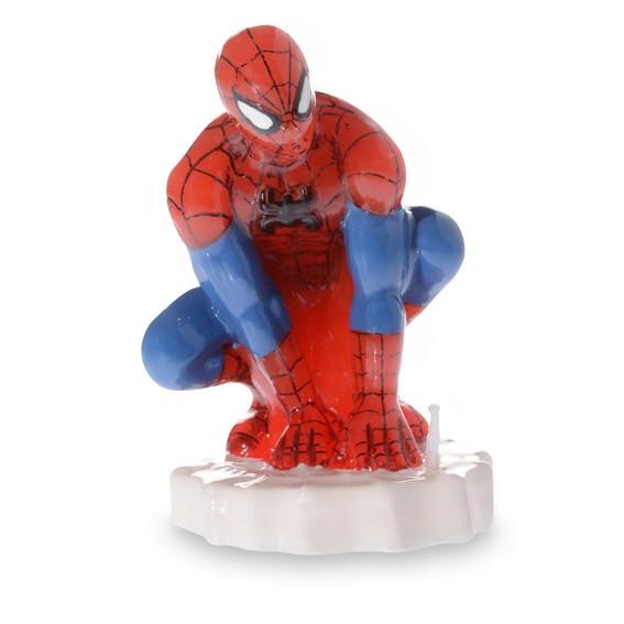 Bougie Spiderman décor pour gâteau