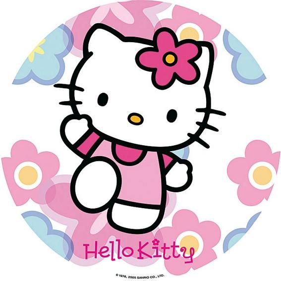 photo pour gâteau Hello kitty