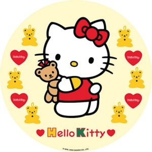 photo pour gâteau Hello kitty