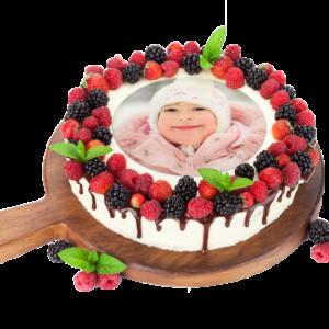 photo pour gâteau ronde imprimée sur feuille alimentaire et comestible, à poser sur votre gâteau pour tous vos événements