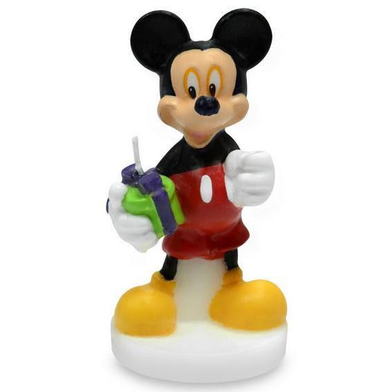 Bougie Mickey décor pour gâteau