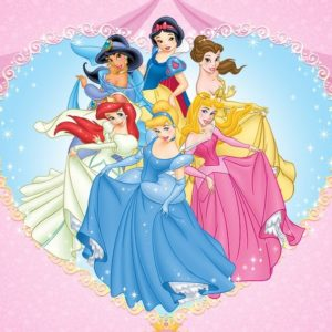 photo pour gâteau Princesse