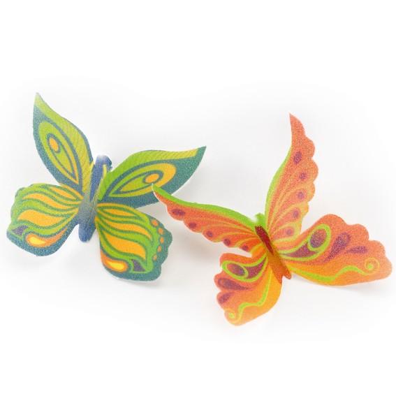 Décor pour gâteau Papillons en azyme