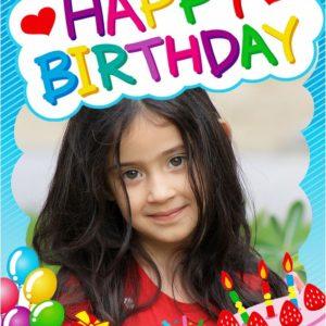 photo pour gâteau Joyeux anniversaire