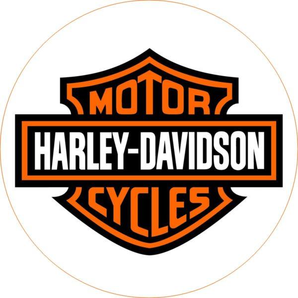 photo pour gâteau Harley davidson
