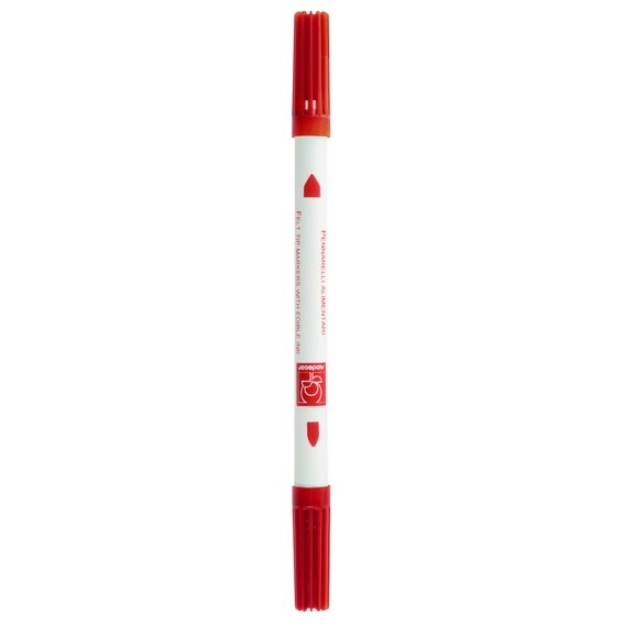Stylo alimentaire rouge
