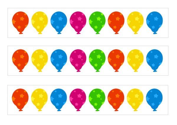 Tour de gâteau ballon