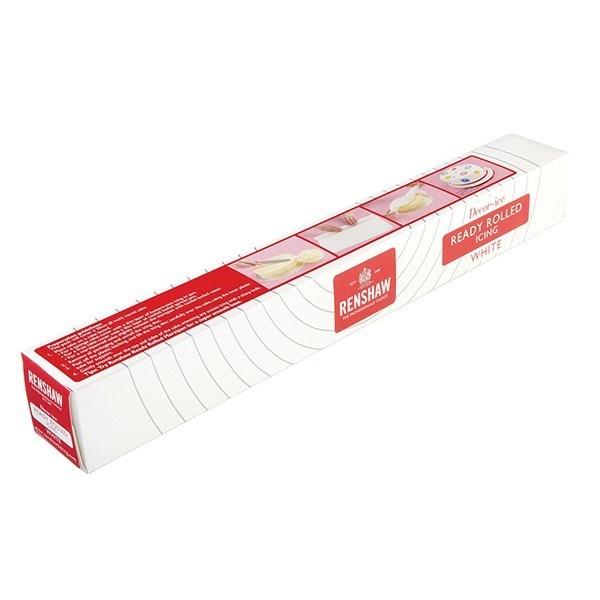 Pâte à sucre à dérouler blanche 36 cm